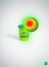 Айтрекинг-анализ рекламы Play-Doh